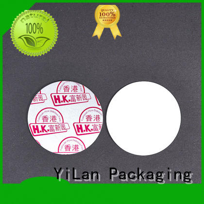 YiLan Packaging electromagnetic seal liner with strict quality control system for food