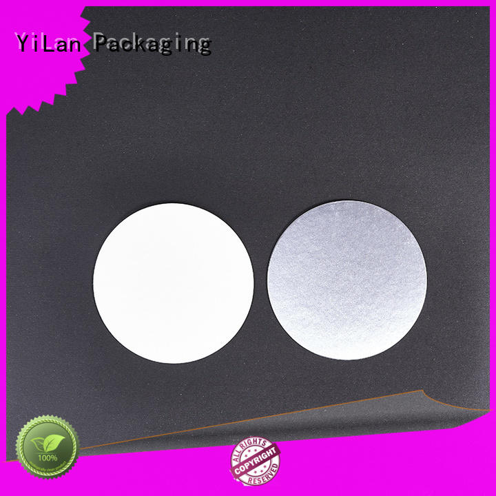 YiLan Packaging translucent induction seal liners with strict quality control system for protection