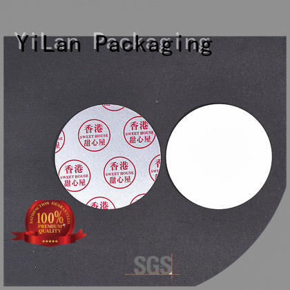 YiLan Packaging pet seal liner with strict quality control system for food