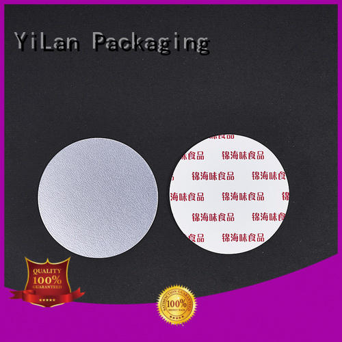 unseparated closure liners with strict quality control system for protection YiLan Packaging