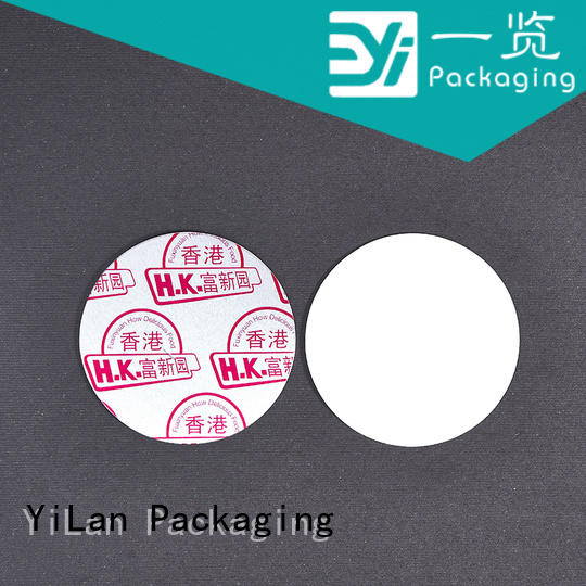 YiLan Packaging Latest induction liner company for calcium tablet
