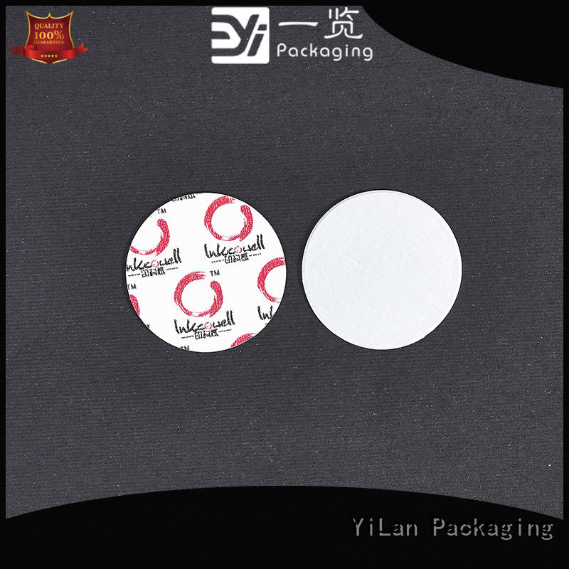 YiLan Packaging translucent induction seal liners with strict quality control system for food