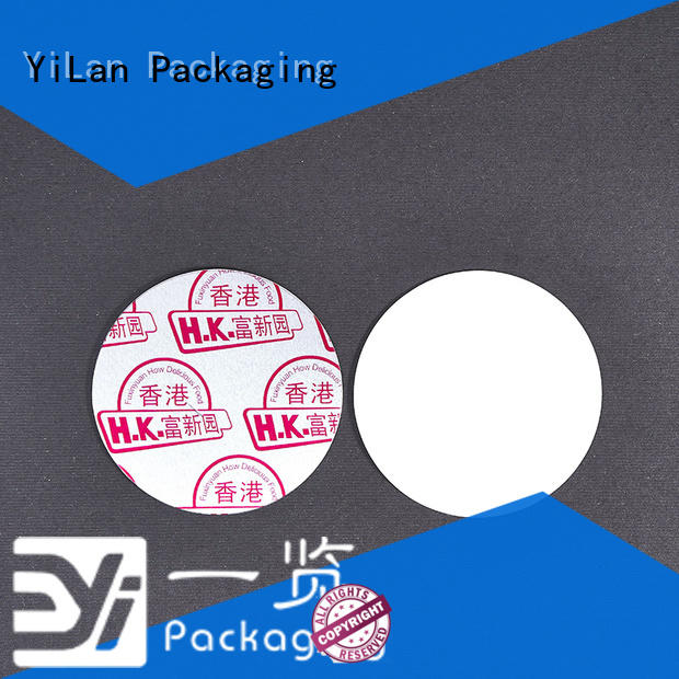 YiLan Packaging exquisite induction seal liners with quality assurance for calcium tablet