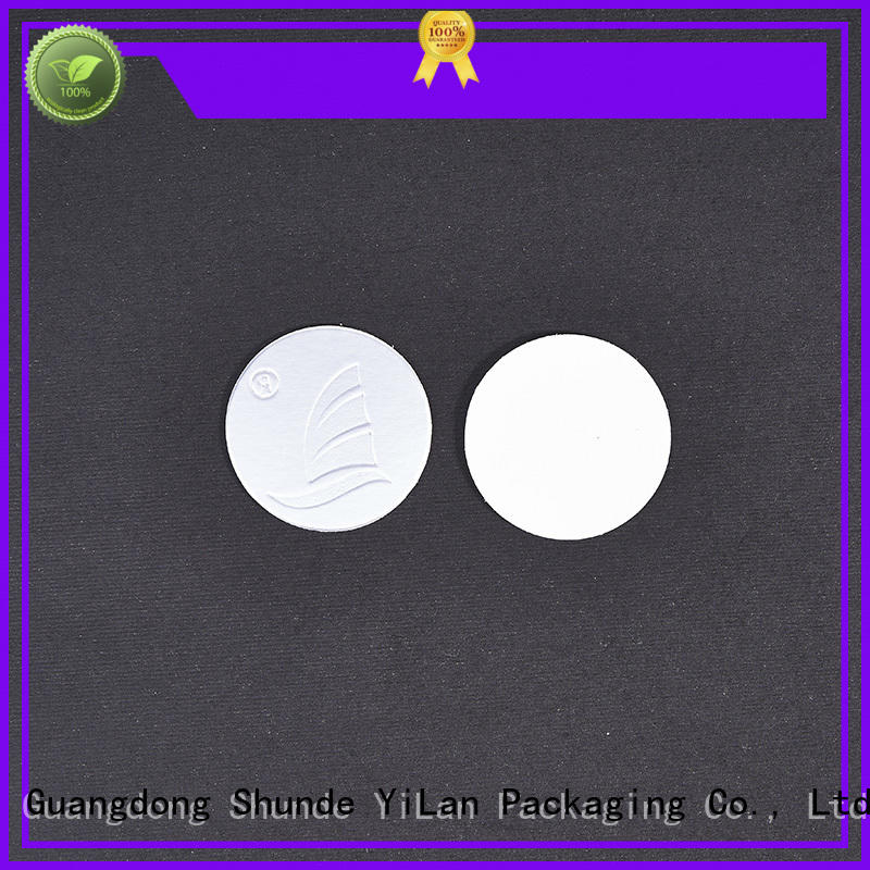 YiLan Packaging cap liner adhesive for food