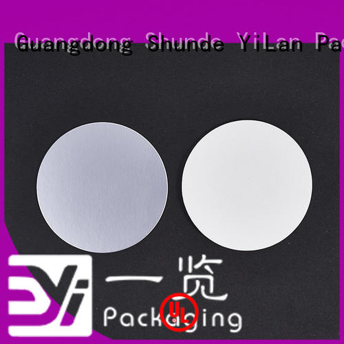 YiLan Packaging online induction seal liners with strict quality control system for food