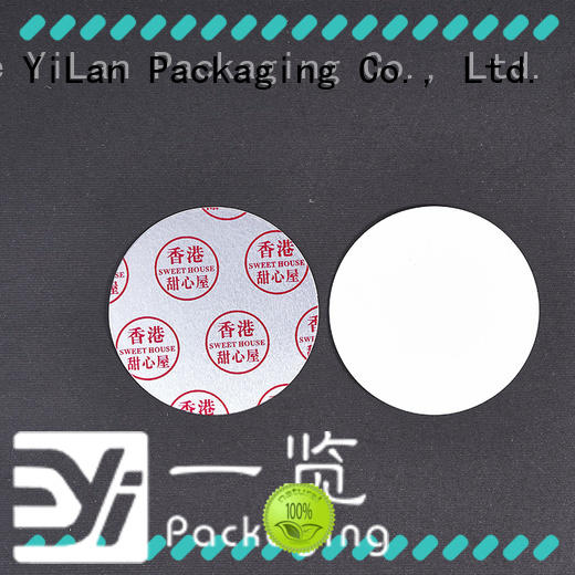 YiLan Packaging membrane induction liner with quality assurance for food