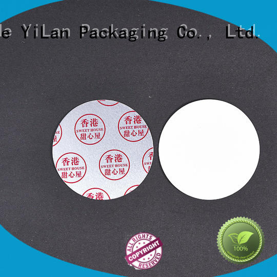 YiLan Packaging exquisite induction liner with strict quality control system for calcium tablet