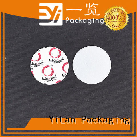 YiLan Packaging reliable induction seal liners with strict quality control system for food