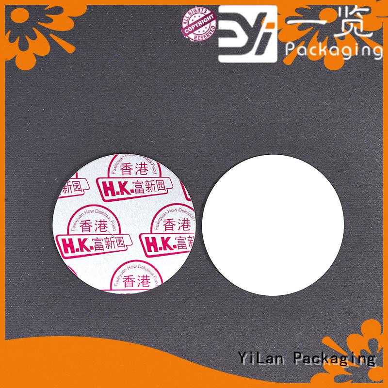 YiLan Packaging translucent induction seal liners with quality assurance for protection