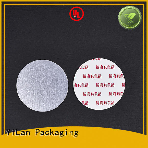 YiLan Packaging thick induction liner with strict quality control system for calcium tablet