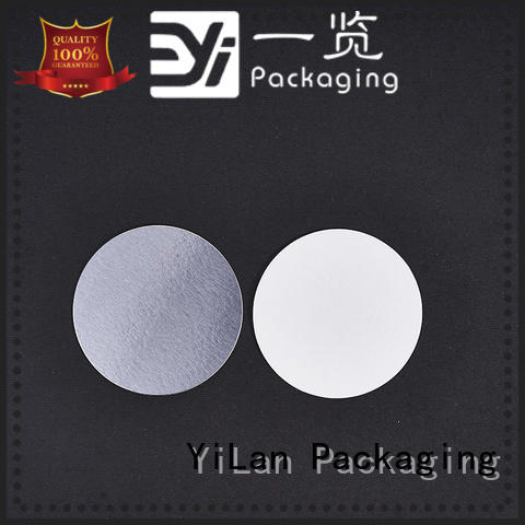 YiLan Packaging online induction liner easy to open for calcium tablet