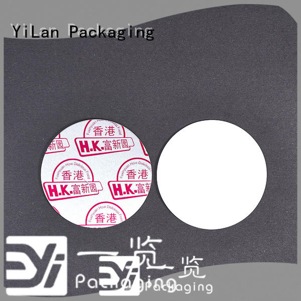 YiLan Packaging pet induction liner easy to open for protection
