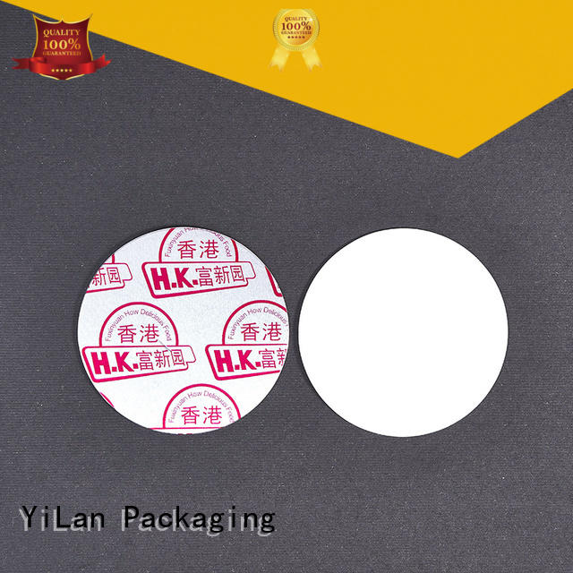 YiLan Packaging translucent safety seal for bottles color for protection