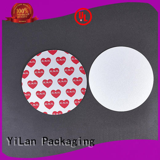 YiLan Packaging translucent induction seal liners with quality assurance for food