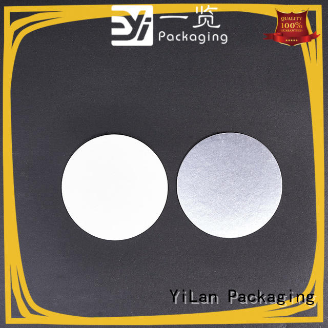 YiLan Packaging pet induction seal liners with strict quality control system for food