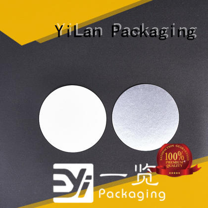 YiLan Packaging unseparated induction liner easy to open for calcium tablet