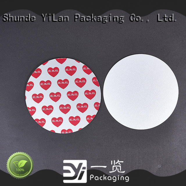 YiLan Packaging melt induction seal liners with strict quality control system for protection
