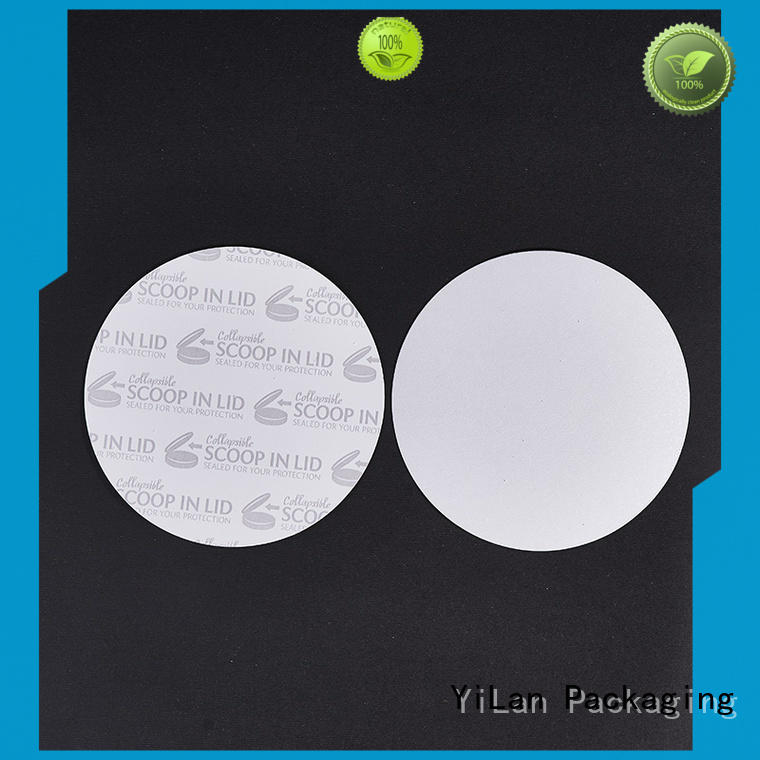 YiLan Packaging online induction seal liners with quality assurance for calcium tablet