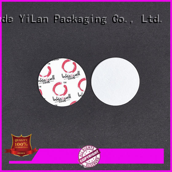 YiLan Packaging cardboard induction seal liners with quality assurance for food