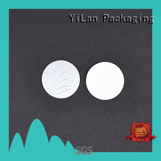 YiLan Packaging pet induction liner with quality assurance for calcium tablet